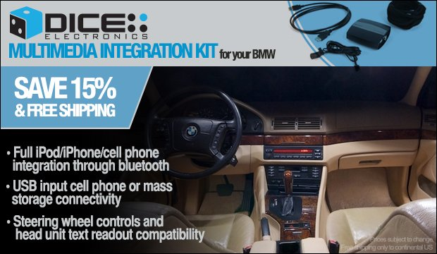 DICE MediaBridge by Audiovox for BMW - On Sale!