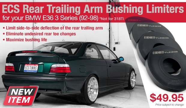 ECS RTAB Limiters for your BMW E36 3 Series 92-98