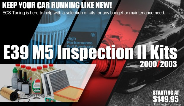 Inspection II Service Kits - BMW E39 M5