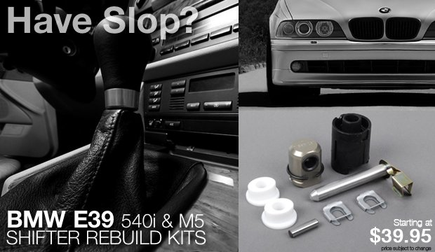 BMW E39 5401 M5 Shifter Rebuild Kits