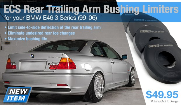 ECS RTAB Limiters for your BMW E46 3 Series 99-06