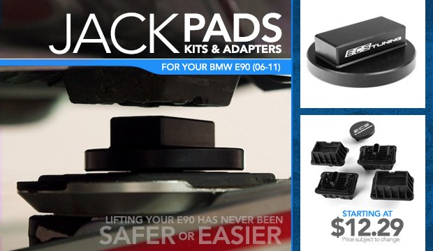 Jack Pads, Kits,  Adapters - BMW E90 (06-11)