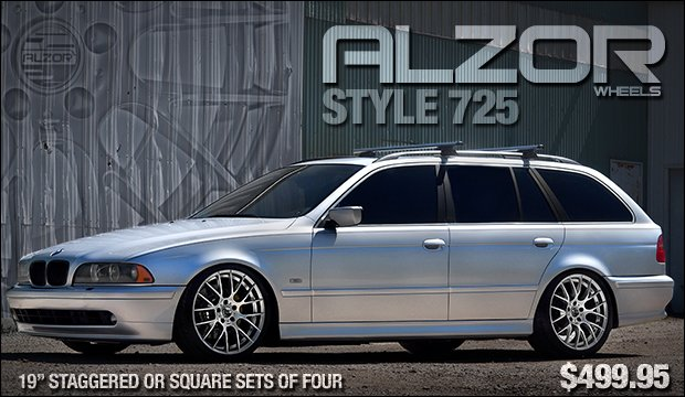 Alzor Wheels Style 725 - BMW E39 5 Series