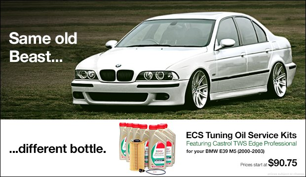BMW E39 M5 Oil Service Kits with Castrol TWS 10w60
