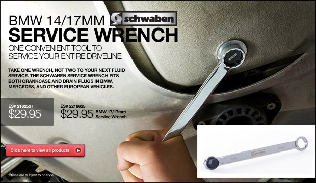 BMW Service Wrenches