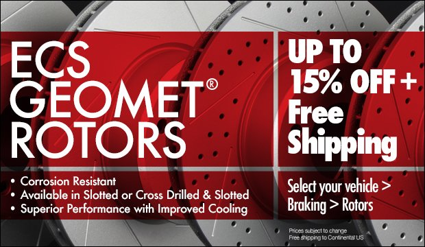 GEOMETreg; Brake Rotors Sale