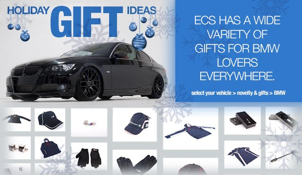 BMW Holiday Gift Ideas 2013
