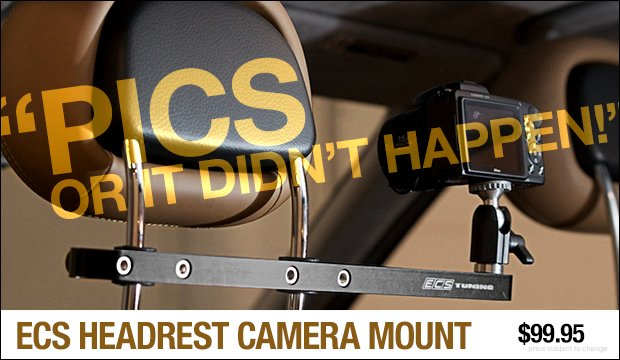 ECS Headrest Camera Mount