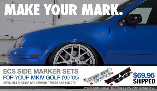 VW MKIV Golf Side Marker Light Set