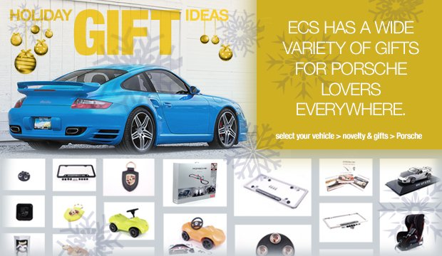 Porsche Gift Ideas - Holiday 2013