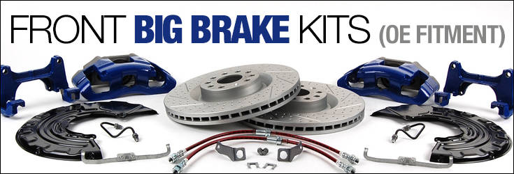 oe front big brake kit for a