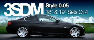 BMW 3 Series 3SDM Style 0.05 Wheel Sets