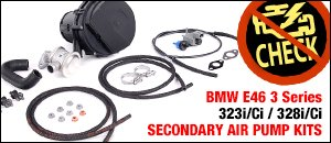 BMW E46 323i/Ci 328i/Ci Secondary Air Pump Kits