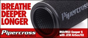Pipercross Performance Air Filters - R52/R53 MINI