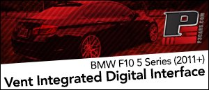 P3 Cars Vent Integrated Digital Interface - BMW F10