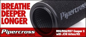 Pipercross Performance Air Filters - R55/R56/R57 MINI