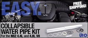 BMW N62 Collapsible Water Pipe Kit