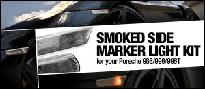 Porsche 986/996/996T Smoked Side Marker Kit