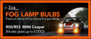 R50/R53 MINI H7 Fog Lamp Bulbs