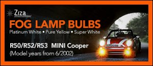 R50/R52/R53 MINI H11 Fog Lamp Bulbs
