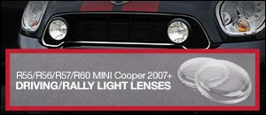 MINI Driving/Rally Light Lens Sets