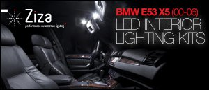 BMW E53 X5 LED Interior Lighting