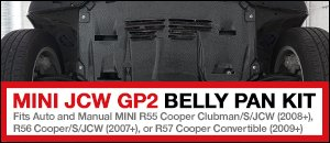 MINI JCW GP 2 Belly Pan Kit