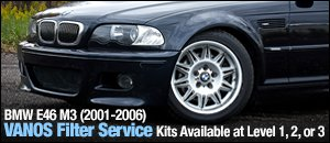 BMW E46 M3 VANOS Filter Change Kits