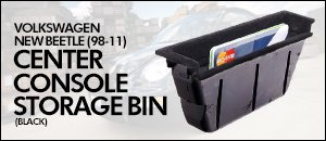 Volkswagen New Beetle Center Console Storage Bin