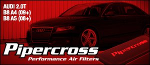 Pipercross Performance Air Filters - Audi B8 A4/A5 2.0T