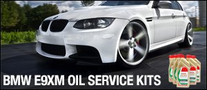 BMW E9X M3 Oil Service Kits with Castrol TWS 10w60