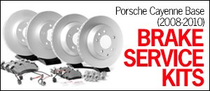 Porsche 957 Cayenne Base (08-10) Brake Service Kits