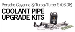 Porsche Cayenne S/Turbo/TurboS Coolant Pipe Kits