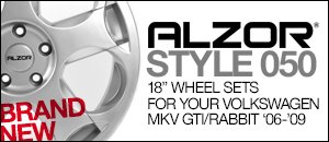 Alzor Style 050 Wheel Sets - MKV GTI/Rabbit