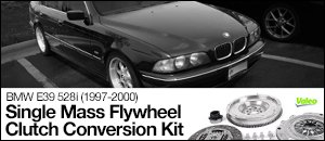 Single-Mass Flywheel Conversion - BMW E39 528i