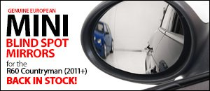 R60 MINI Countryman Blind Spot Mirrors