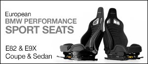 E82/E9x Coupe/Sedan BMW Performance Sport Seats