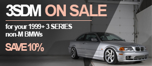 BMW 1999+ 3 Series Non-M 3SDM Wheel Sets - Save 10%