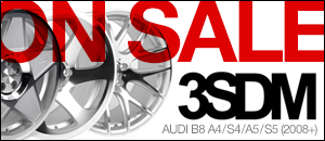 Audi B8 A4/S4/A5/S5 3SDM Wheel Sets - Save 10%