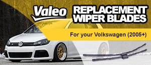 Valeo Wiper Blades - 2005+ Volkswagens - On Sale!