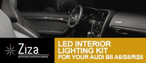 Ziza LED Interior Lighting Kit for Audi B8 A5/S5/RS5