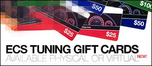 ECS Tuning Gift Cards - Physical or Virtual