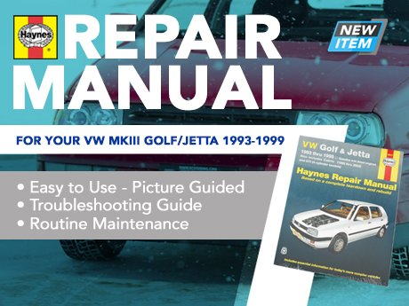 1998 Volkswagen Cabrio Repair Manual