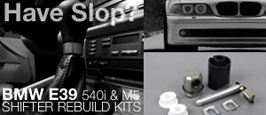 BMW E39 540i/M5 Shifter Rebuild Kits