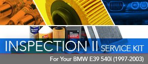 Inspection 2 Service Kits - BMW E39 540i