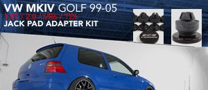 VW MKIV Golf Jack Pad Adaptor Set