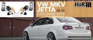 VW MKV Jetta HR Coilover Kits