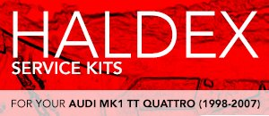 Haldex Service Kits for Audi MK1 TT (98-07)