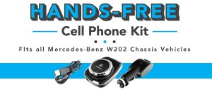 Mercedes-Benz W202 Hands-Free Cell Phone Kit