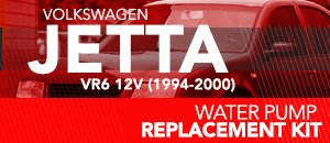 Water Pump Replacement Kit for VW Jetta 12V 94-00